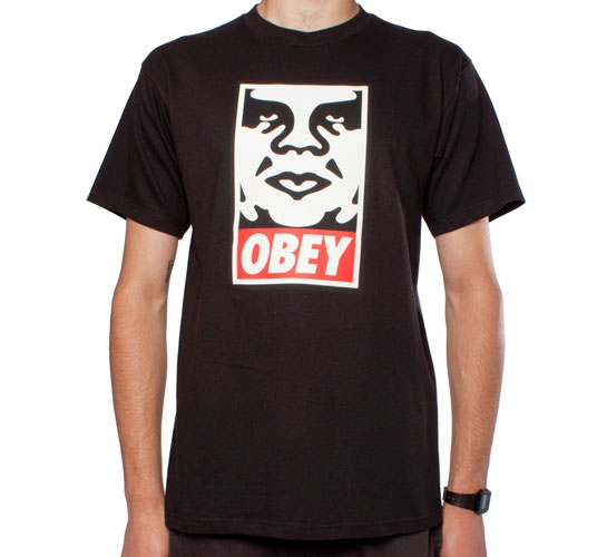 Obey Icon T-Shirt (Black)
