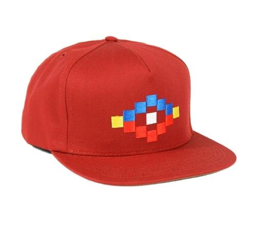 ONLY NY Aztek Snapback Cap (Cardinal Red)