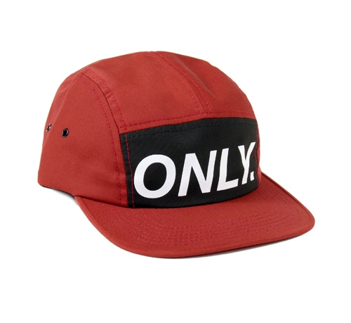ONLY NY Logo 5-Panel Cap (Brick)