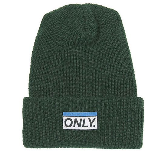 ONLY NY Subway Beanie (Hunter Green)