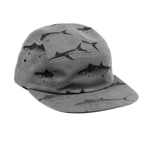 ONLY NY Spanish Mackerel 5-Panel Cap (Ash)