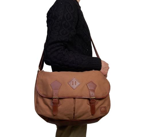 Penfield Bag - Oxon Satchel (Tan)