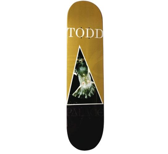 "Palace Skateboard Deck - 7.6"" Olly Todd"