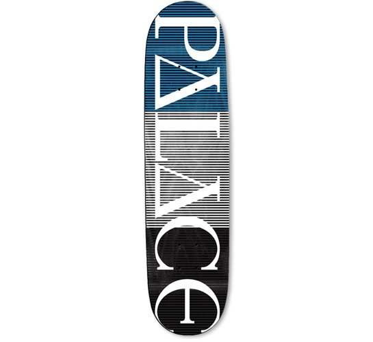 "Palace Skateboard Deck - 8"" Team (Palace Stripe Logo)"