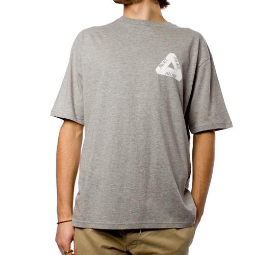 Palace Tri-Ferg T-Shirt (Grey Marle)