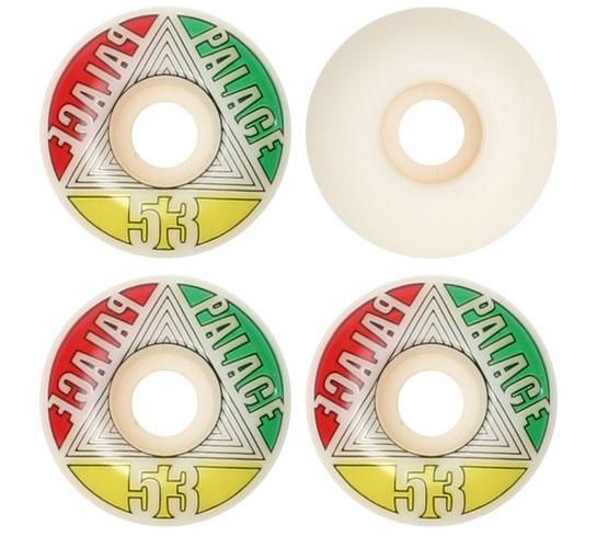 Palace Skateboard Wheels - 53mm Tri-High