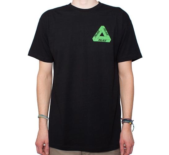 Palace Tri-Ganja T-Shirt (Black)