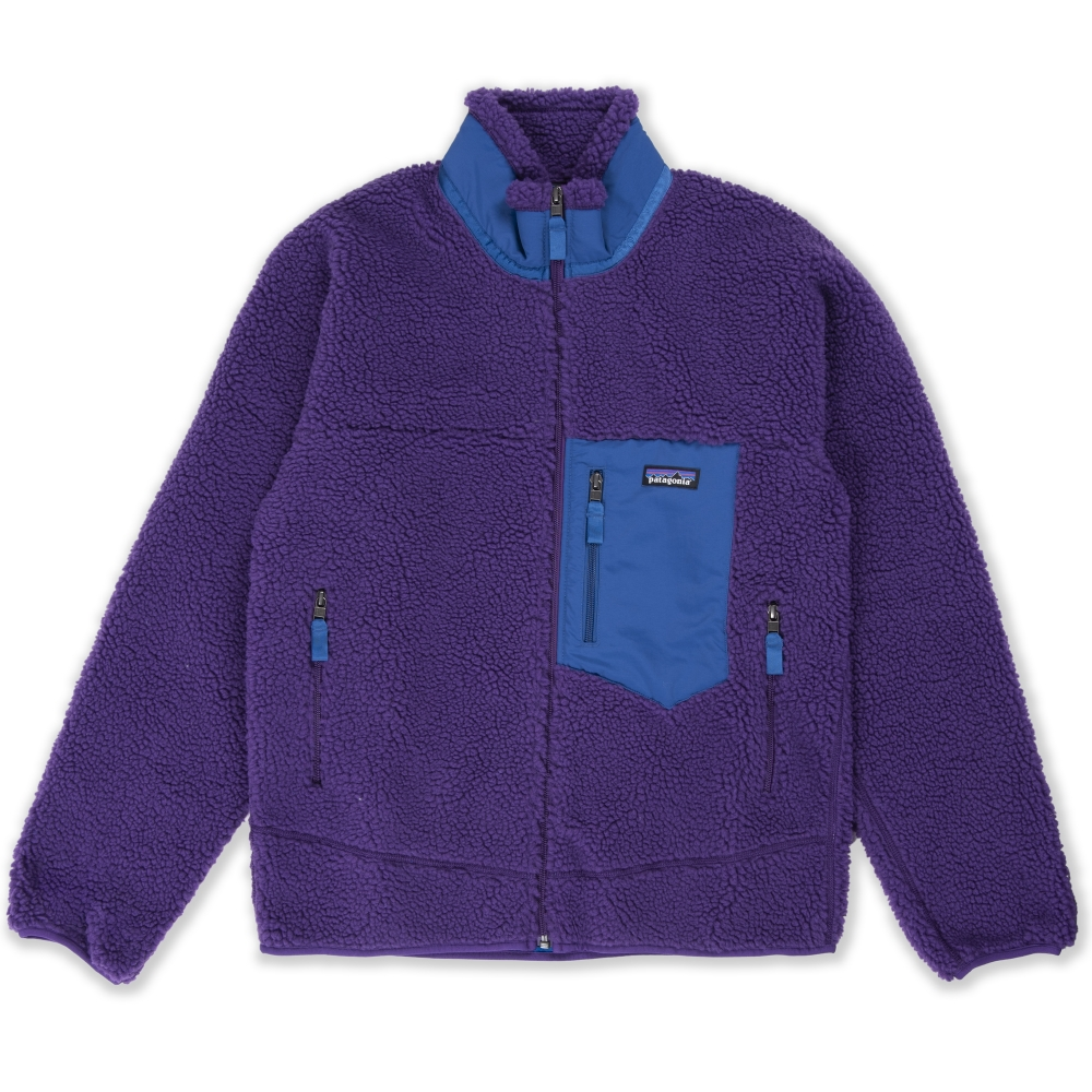 Patagonia Classic Retro-X Fleece Jacket (Purple)