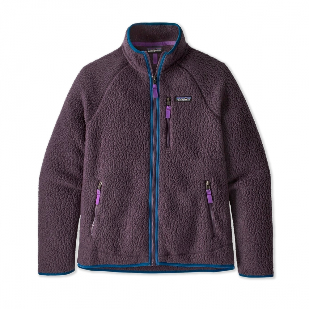 Patagonia Retro Pile Fleece Jacket (Piton Purple)