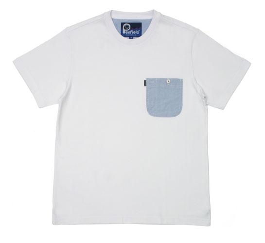 Penfield Men's T-Shirt - Dale (White)