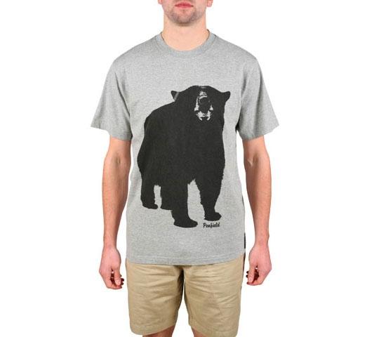 Penfield Men's T-Shirt - Big Bear (Grey Marle)