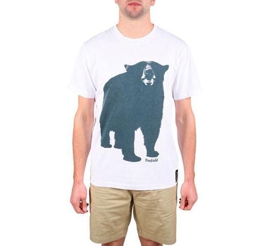 Penfield Men's T-Shirt - Big Bear (White)
