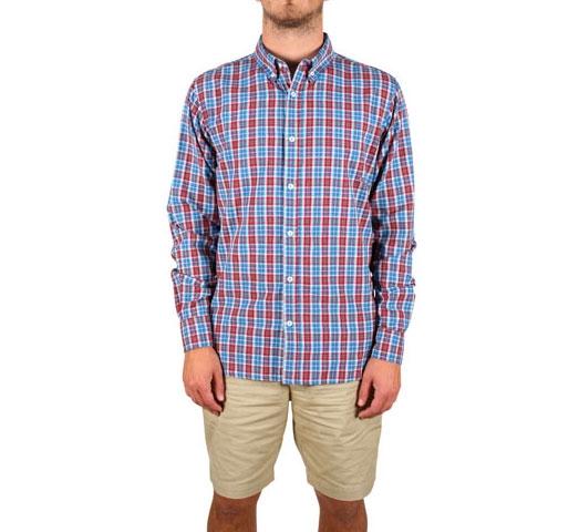Penfield Kaslo Shirt (Blue Check)