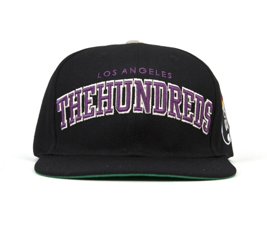The Hundreds Cap - Player Snapback (Black)