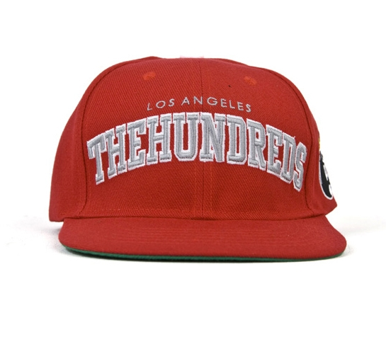 The Hundreds Cap - Player Snapback (Red)