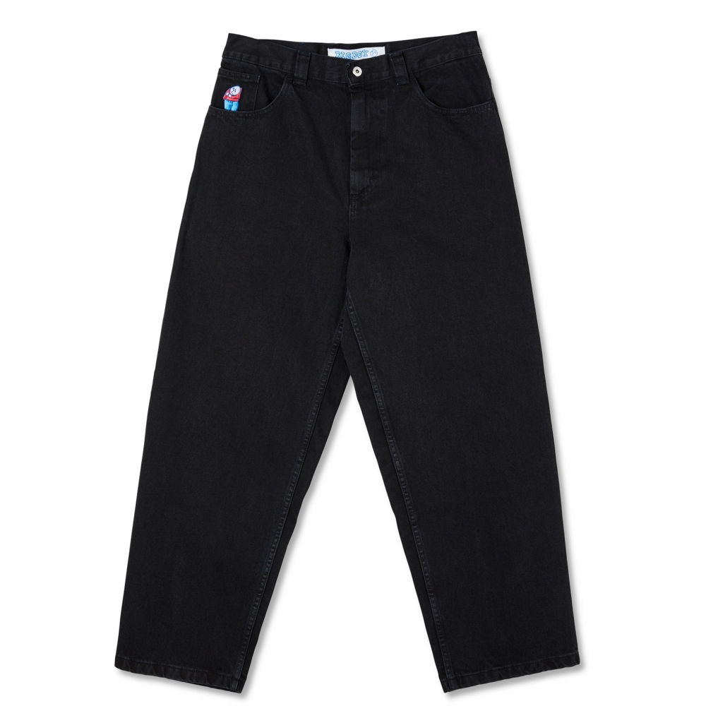 Polar Skate Co. Big Boy Denim Jeans (Pitch Black)