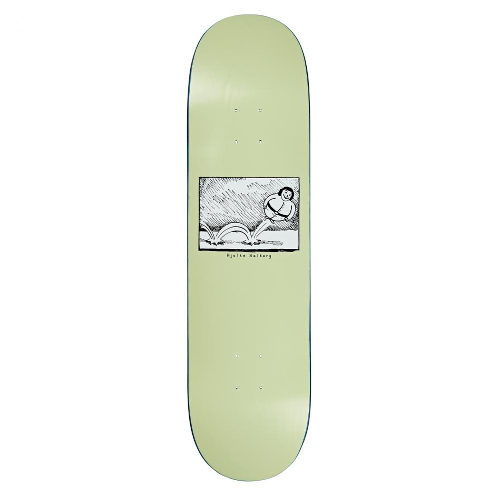 """Polar Skate Co. Hjalte Halberg Bounce Skateboard Deck 8.25"""" (Light Green)"""