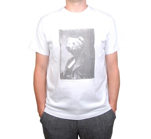 Penfield Men's T-Shirt - Portrait (White)