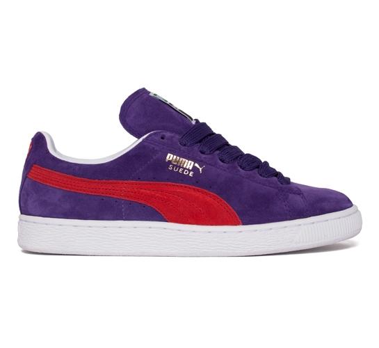 Puma Suede (Mulberry Purple/Pompeian Red)