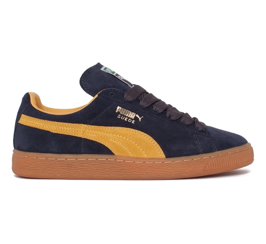 Puma Suede (Team Charcoal/Mineral Yellow)