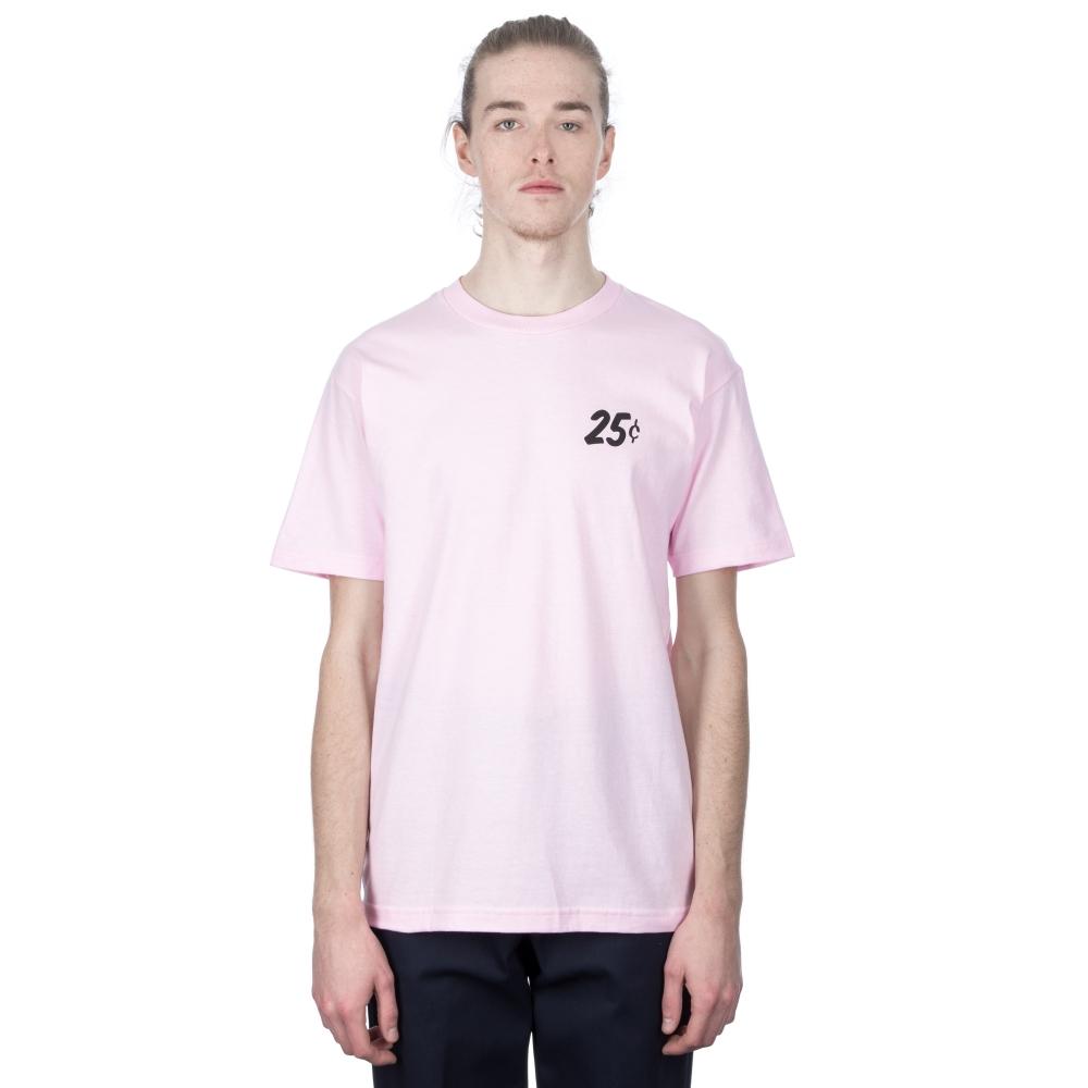 Quartersnacks Champagne Forever T-Shirt (Pink)