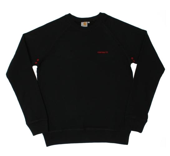 Carhartt Men's Sweatshirt - Member Sweatshirt (Black)