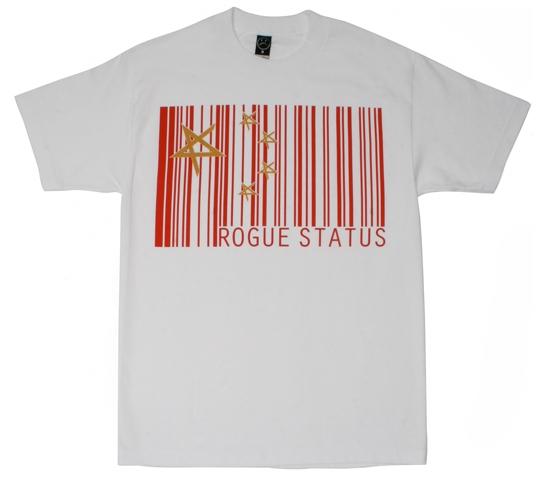 Rogue Status Men's T-Shirt - Made In China (White)