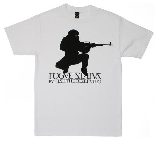 Rogue Status Men's T-Shirt - Rogue Insurgent (White)