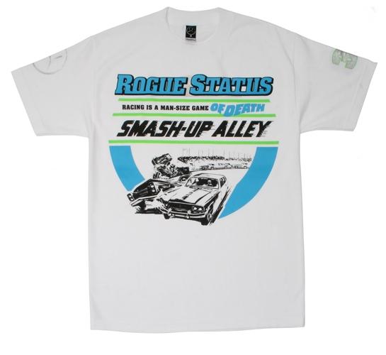 Rogue Status Men's T-Shirt - Smash Up Ally (White)