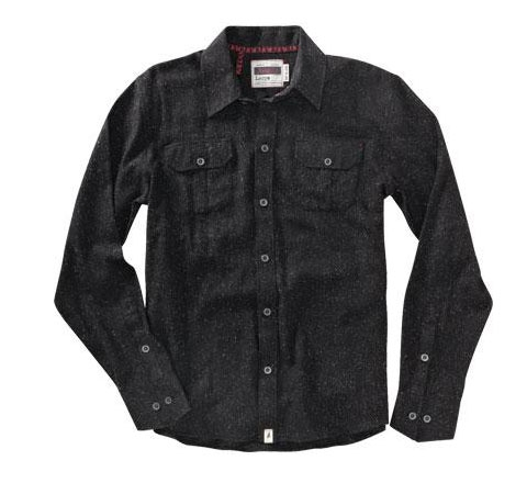 Altamont Men's Shirt - Roadster (Black Heather)