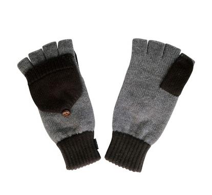 Penfield Gloves - Ronson Mitten Gloves (Grey)