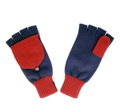 Penfield Gloves - Ronson Mitten Gloves (Navy)