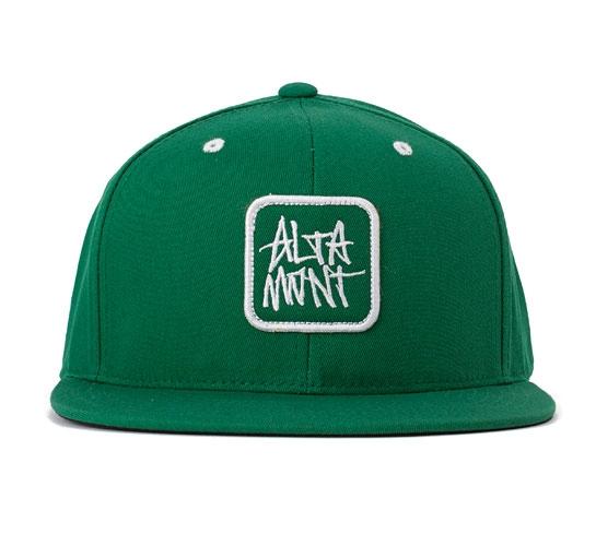 Altamont Sig 2 Flexfit Snapback Cap (Green)