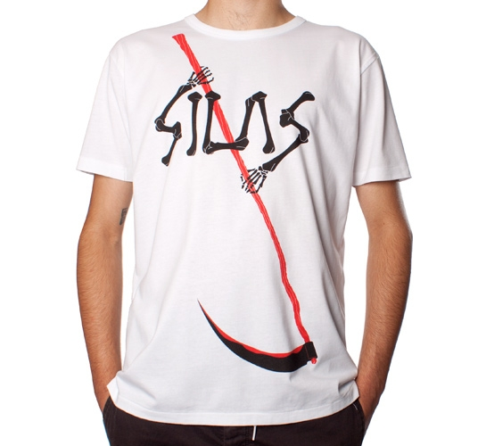 Silas Grim Reaper T-Shirt (White)