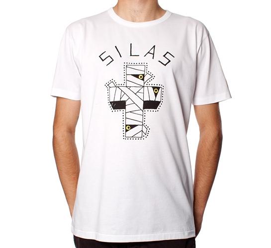 Silas X Allraid Graphics M-Cross T-Shirt (White)