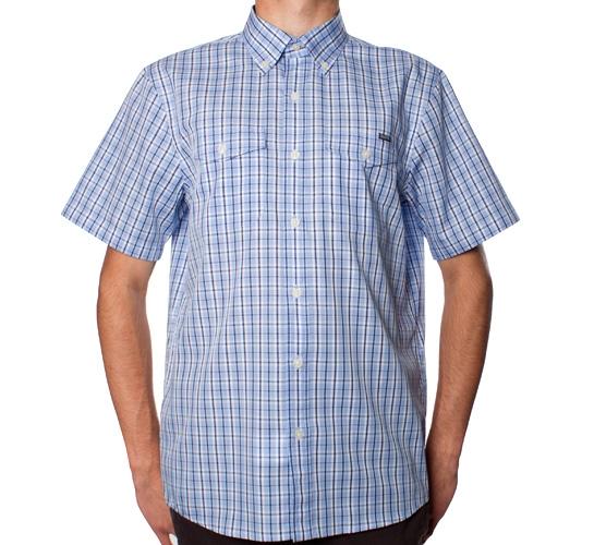 Silas Plaid Shirt (Blue)