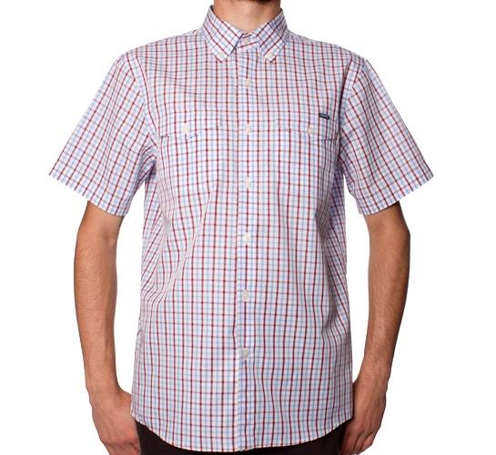 Silas Plaid Shirt (Red)