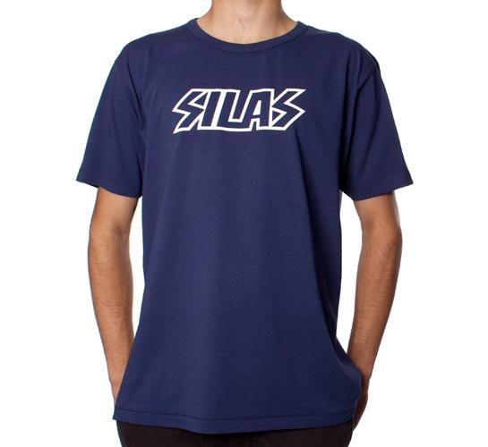 Silas Rock Logo T-Shirt (Indigo)