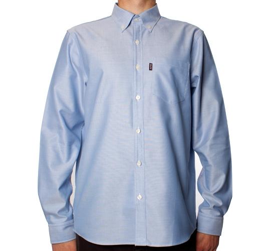 Silas Solid Shirt (Navy)