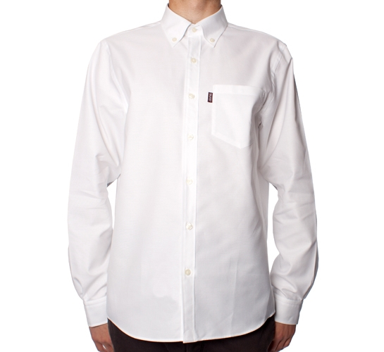 Silas Solid Shirt (White)