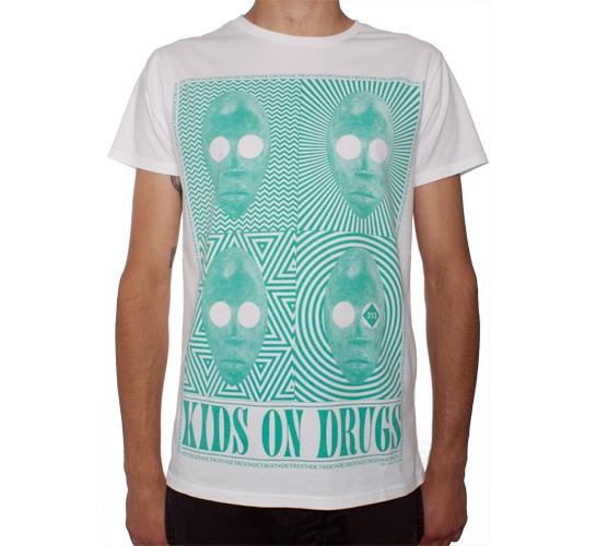 Sixpack France Kids On Drugs T-Shirt (White)