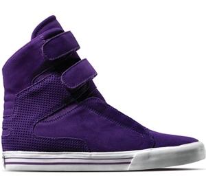 Supra Footwear - Tk Society (Purple Suede)