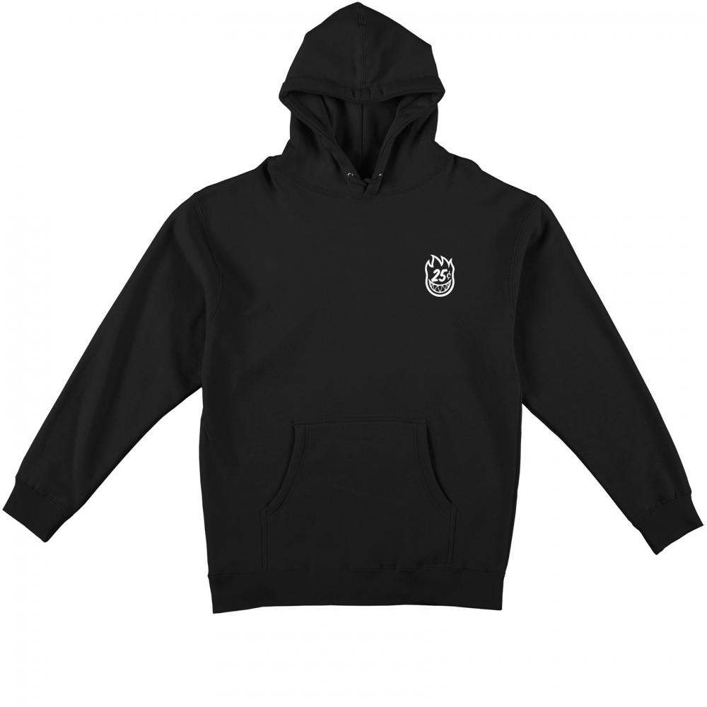 Spitfire x Quartersnacks Snackman Pullover Hooded Sweatshirt (Black)