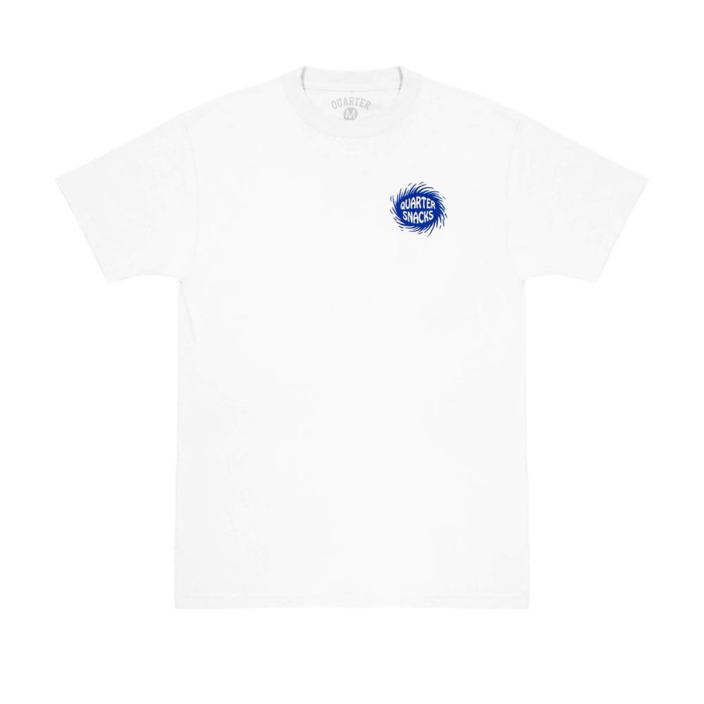 Quartersnacks Surf Shop T-Shirt (White)