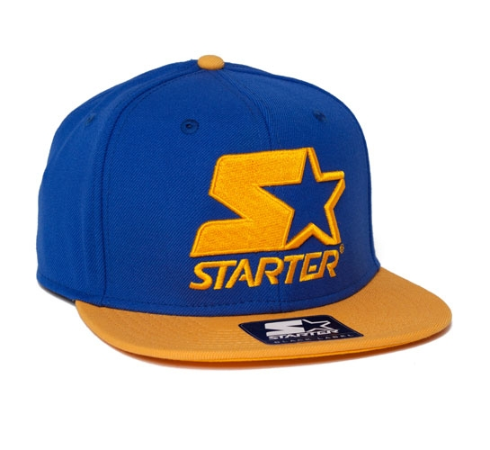 Starter 2 Tone Snapback Cap (Royal/Yellow)
