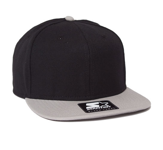 Starter Snapback Cap (Black/Grey)