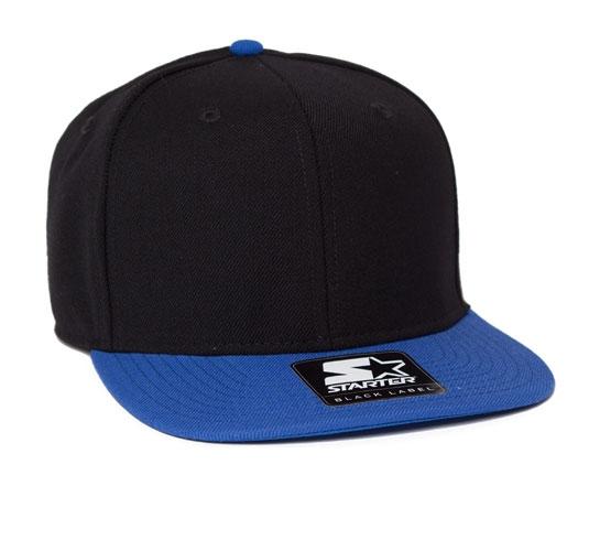Starter Snapback Cap (Black/Royal)