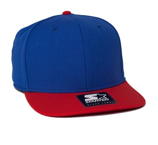 Starter Snapback Cap (Royal/Red)