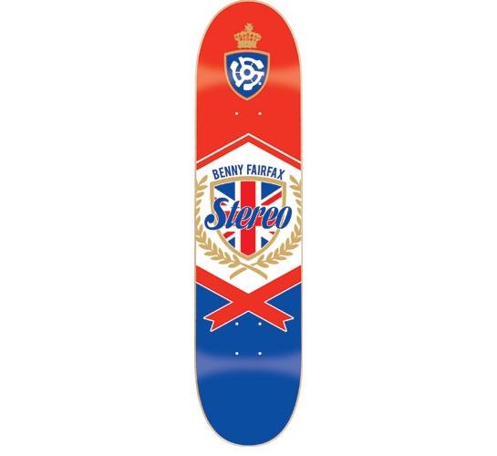 "Stereo Skateboard Deck - 7.75"" Fairfax (Bangers)"