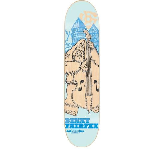 "Stereo Skateboard Deck - 7.625"" Fairfax (Bigfoot)"